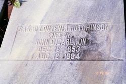 Sarah Louvenia <i>Hutchinson</i> Carlton