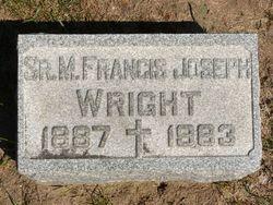 Sr Francis <i>Joseph</i> Wright