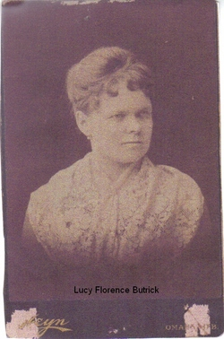 Lucy Florence <i>Butrick</i> Coulter