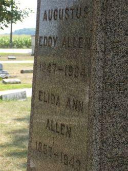 Elida Ann <i>Pooler</i> Allen