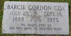 Barcie Gordon Cox