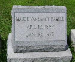 Mrs Maude Arabelle <i>VanZandt</i> Barkle
