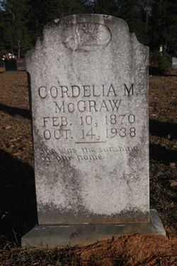 Cordelia Matilda Delia <i>Smith</i> McGraw
