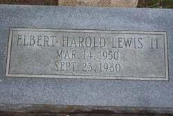Elbert Harold Lewis, II