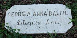 Georgia Anna Balch