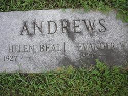 Helen <i>Beal</i> Andrews
