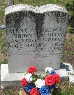 Minerva Malissa Minnie <i>Harter</i> Brown