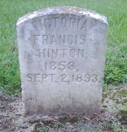 Victoria Francis Hinton