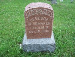 Rebecca <i>Radabaugh</i> Shoemaker