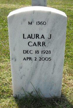 Laura J <i>Keeler</i> Carr