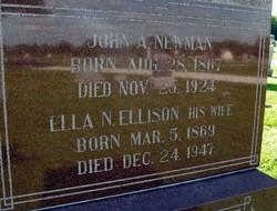 Ella N <i>Ellison</i> Newman