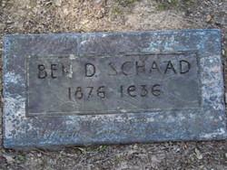 Benjamin Dickinson Schaad