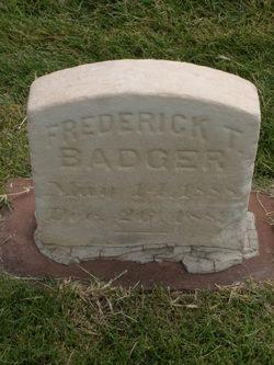 Frederick Taylor Badger