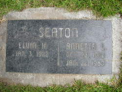 Annette <i>Lange</i> Seaton