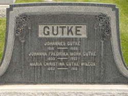 Christina Maria <i>Anderson</i> Gutke