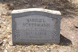 Harold L. Ackermann