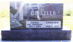 Emma <i>Krueger</i> Geiszler