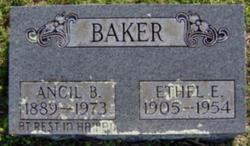 Ethel Emily <i>Modrall</i> Baker