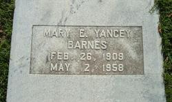 Mary Elaine <i>Yancey</i> Barnes