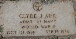 Clyde J Ahr
