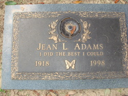 Jean Louise <i>Loper</i> Adams