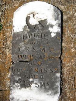 Mamie Whitmore