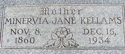 Minervia Jane <i>Atkins</i> Kellams