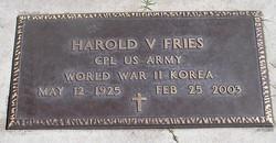 Corp Harold V Fries