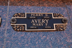 Rev Perry D. Avery