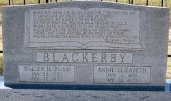 Walter H. Buss Blackerby