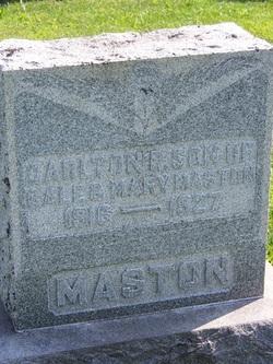 Carleton R Maston