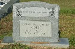 Beulah Mae <i>Dryden</i> Cobb