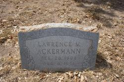 Lawrence M. Ackermann