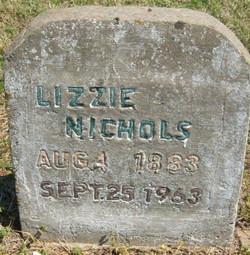 Lizzie Nichols