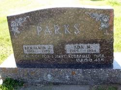 Ada Mae <i>Valline</i> Parks