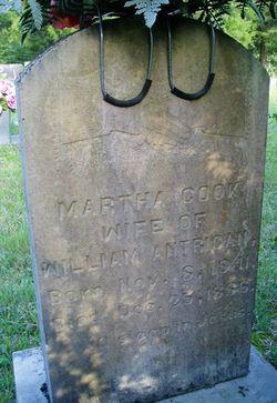 Martha Cook <i>Carpenter</i> Antrican