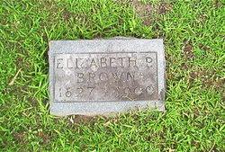 Elizabeth <i>Purviance</i> Brown