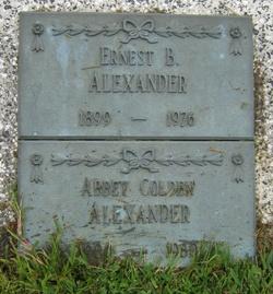 Abbey Bel <i>Colden</i> Alexander
