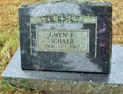 Gwen F Schaer
