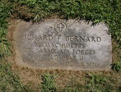 Richard Joseph Richie <i>Francis</i> Bernard