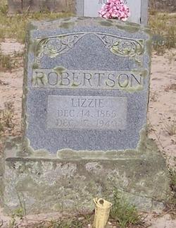 Elizabeth Lizzie <i>Childs</i> Robertson