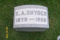 Karl Albert Snyder