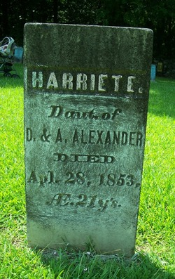 Harriet Elvira Alexander