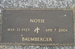 Mary Notie <i>Byrd</i> Baumberger