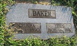 Jerusha <i>Flagler</i> Baker