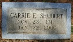 Carrie E. Shubert
