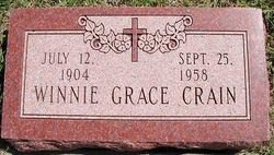 Winnie Grace <i>Evans</i> Crain