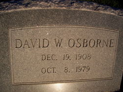 David W Osborne
