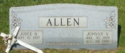 Johnny V Allen