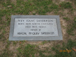 Ivey Isaac Sanderson
